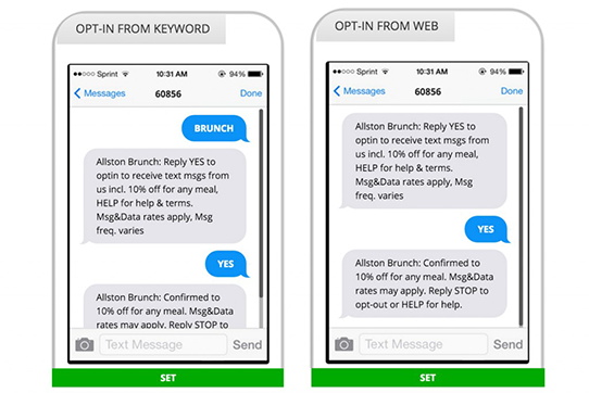 create sms campaign