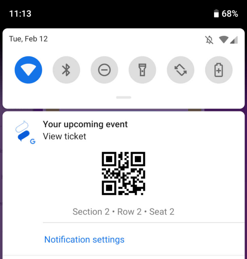 Geofenced Notification for Google Pay