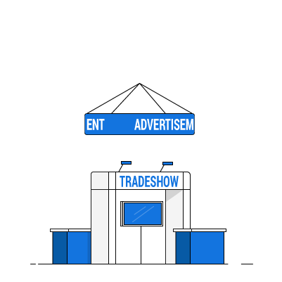 Mobile trade show tickets