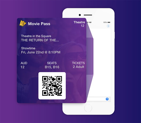 Mobile Ticket Delivery