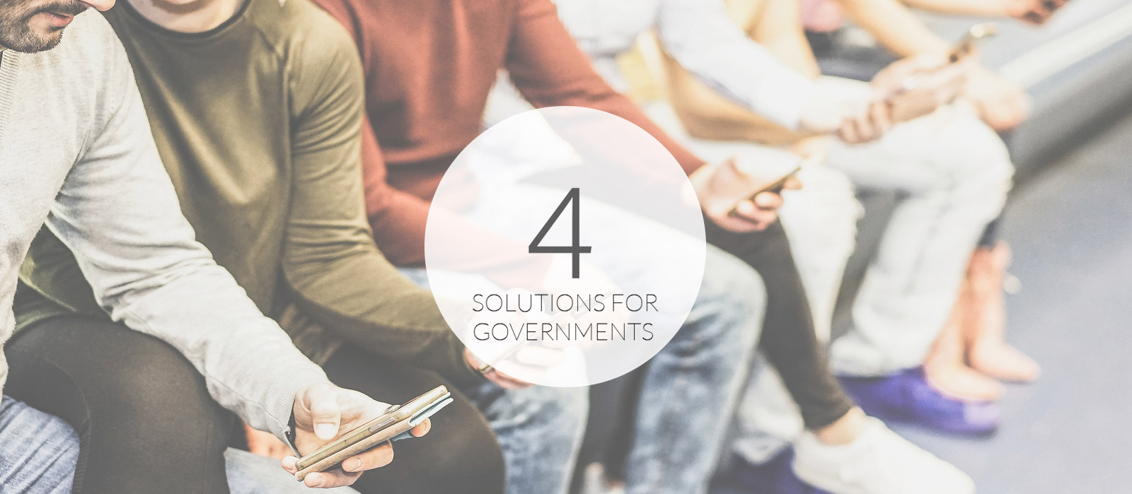 4 Solutions for Governments
