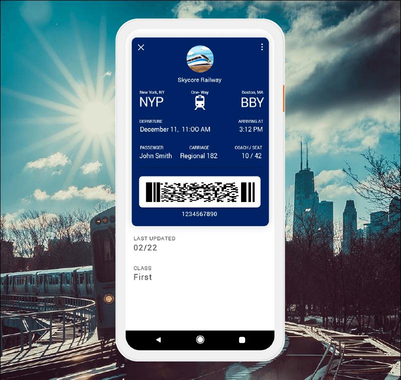 Mobile Wallet Transit Pass