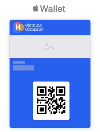 Apple Wallet Pass Example