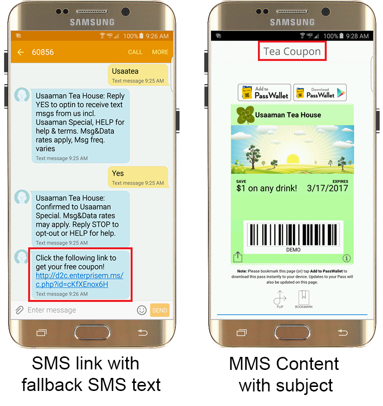 MMS Example