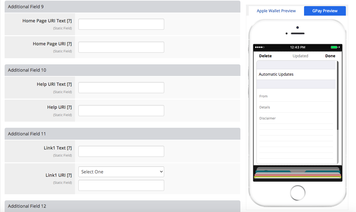 Coupon layout 2 additional fields 4