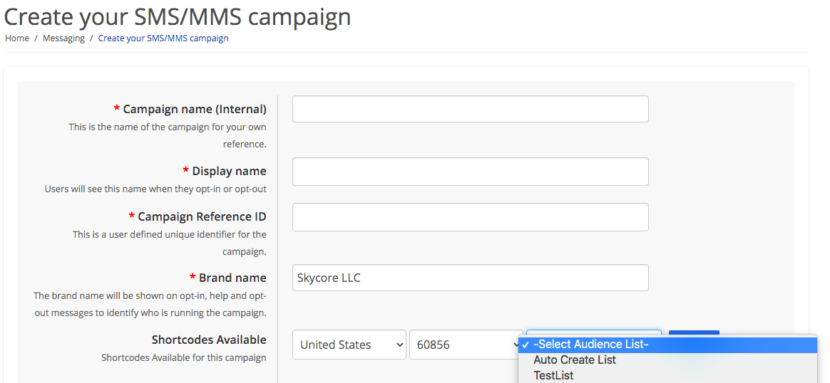 Create Opt-In Lists automatically